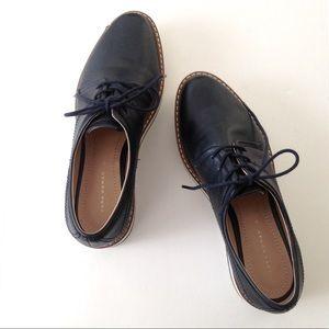 Zara Woman Platform Loafers